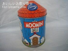 ムーミンハウスチョコレート缶