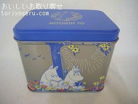 ムーミンビスケット缶北陸製菓