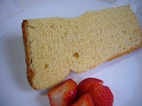 フレイバーのメープルシフォンケーキ
