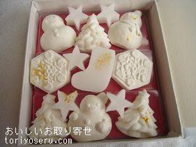 鶴屋吉信のホワイトクリスマス