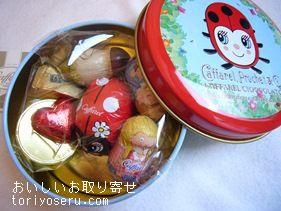 カファレルのてんとう虫缶、キャット缶赤