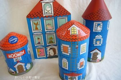 ムーミンハウスのお菓子