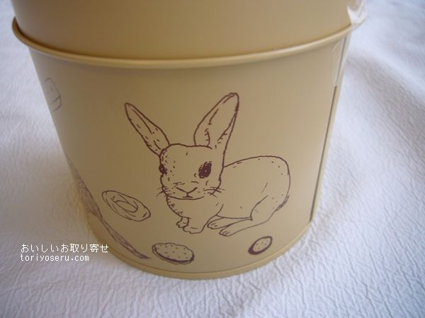 ロミユニの焼き菓子、りす缶