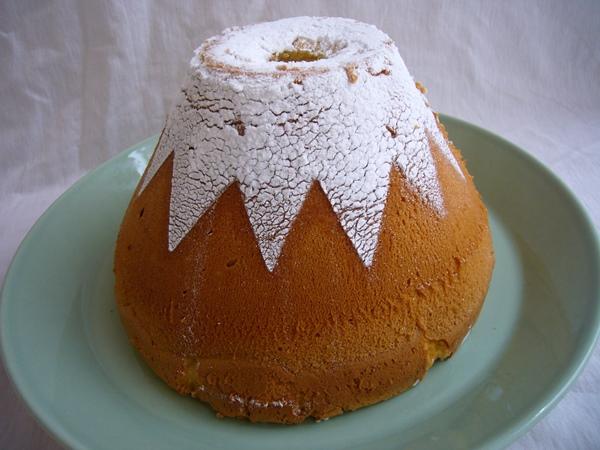 シフォン富士の富士山シフォンケーキ