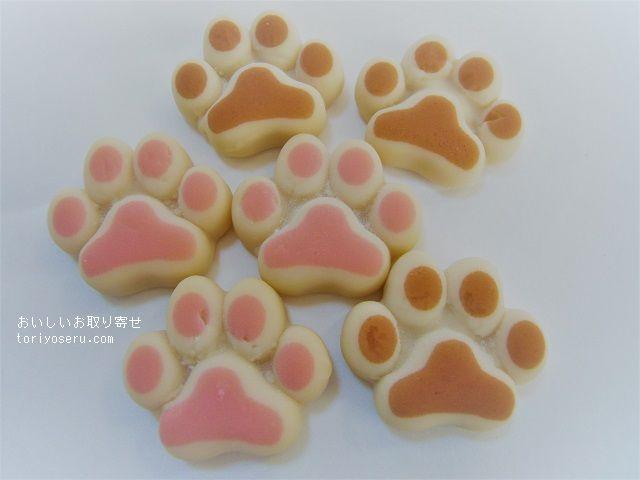 カルディの犬の肉球型グミ・わんこチョコレート