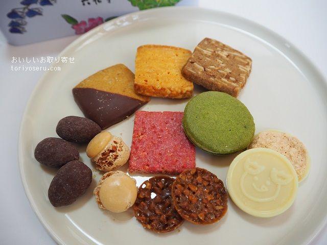 六花亭のまるさんかくしかく(クッキー缶)
