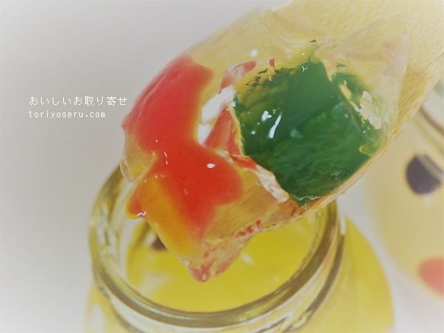 京都養老軒のゆらり金魚の涼風ゼリー