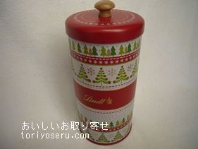 リンツチョコのクリスマス缶