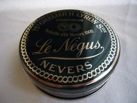 ネギュスのチョコキャンディ缶
