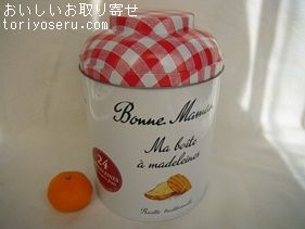 ボンヌママンのマドレーヌ缶