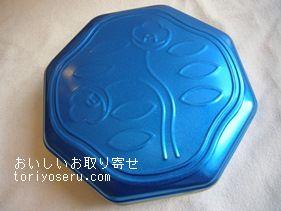 資生堂パーラーの花椿ビスケット青缶