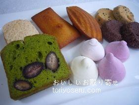 タダシヤナギの焼き菓子