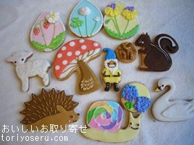 piricaのアイシングクッキーかわいい
