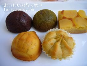 恵那川上屋の栗の焼き菓子