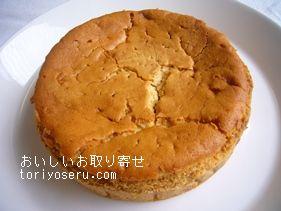 代官山ピカソルのキャラメルといちじくのチーズケーキ