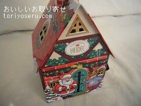カルディ・ヘイデルのキャンドルハウス缶