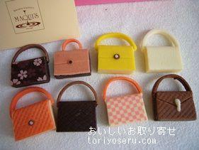 マキィズの神戸ファッションチョコレート(かばんチョコ)