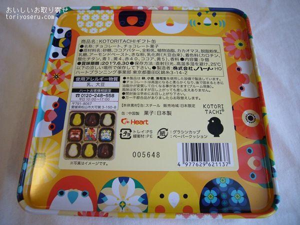 KOTORITATIチョコレート缶インコ、小鳥