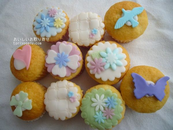 petitbisouプティビズのカップケーキ