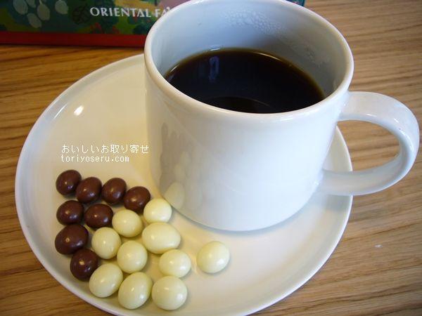orientalfasオリエンタルファズのチェンマイコーヒー、コーヒービーンズチョコレート