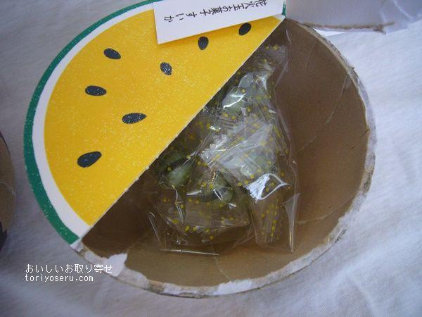 中川政七商店のすいかキャンディ