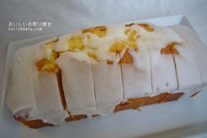 北海道oncafeのレモンバターケーキ