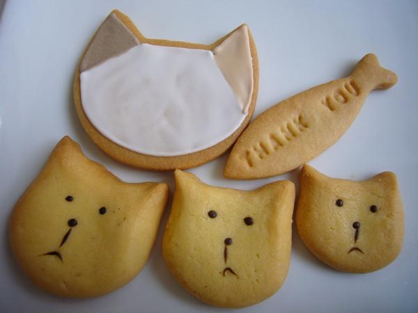 キャリコのクッキーねこ
