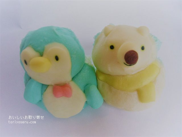 makibapan・ちぎりパン・しろくまとペンギン