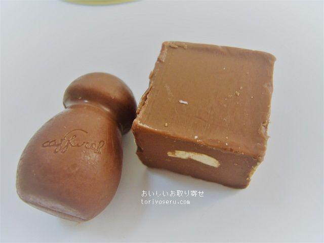 カファレルのチョコラティーの缶ねこ