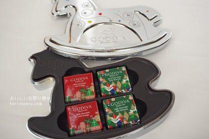 ゴディバGODIVAのクリスマス缶2017