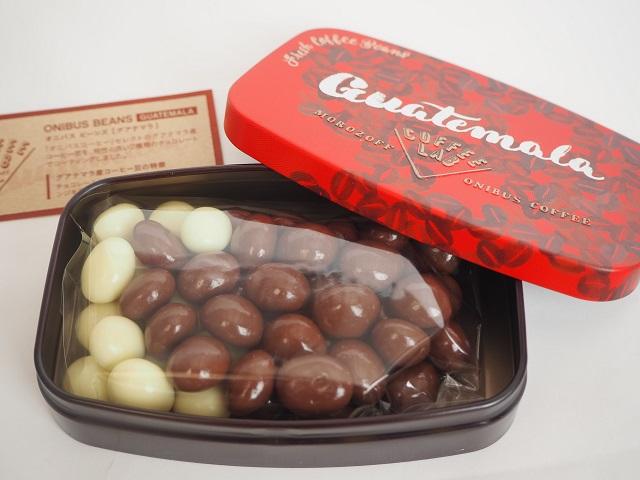 coffeelabのオニバスビーンズ缶バレンタイン