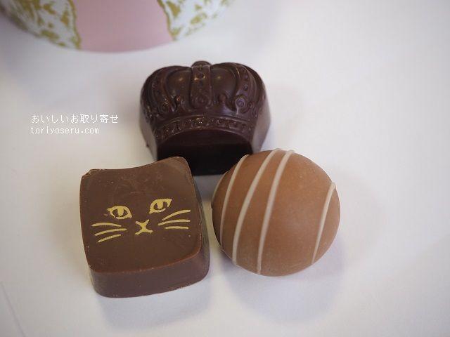 メリーチョコレートのミネットクロンヌ(ローズ)