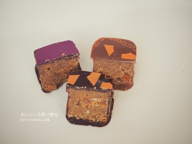 ブノワ・ショコラのチョコレート