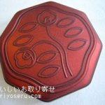 資生堂パーラーの花椿ビスケット赤缶(110周年記念缶)