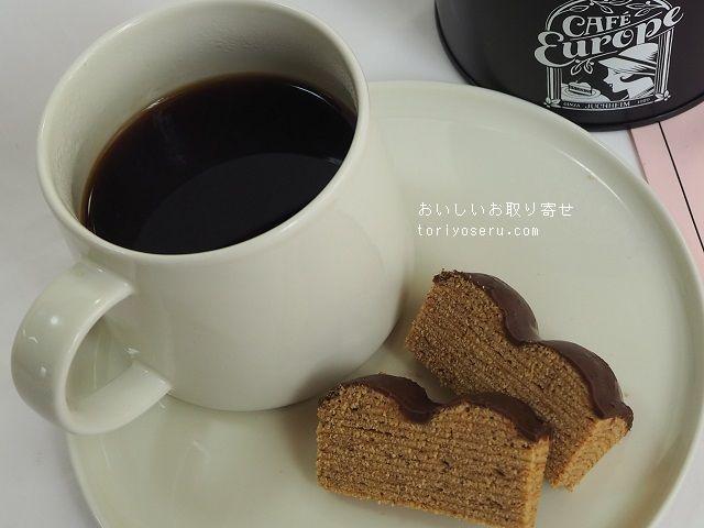 カフェユーロップのコーヒー