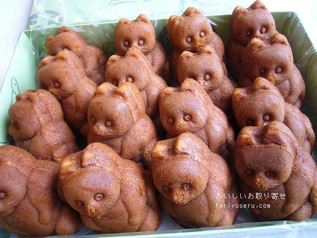 山田屋の人形焼き(たぬき)