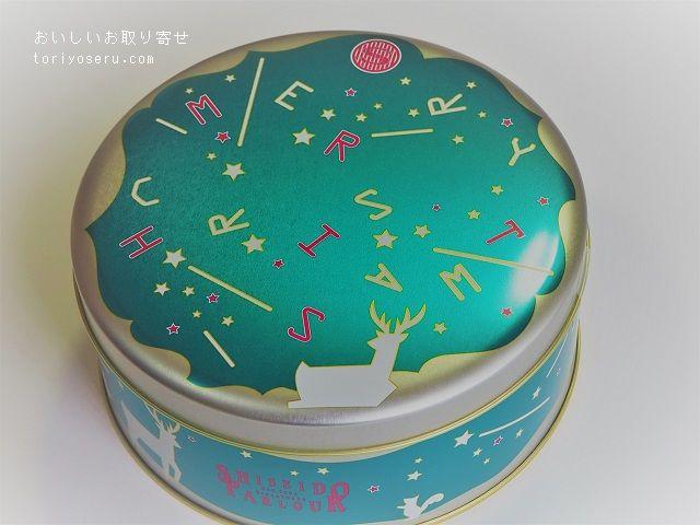 資生堂パーラーのクリスマススイーツ缶2018