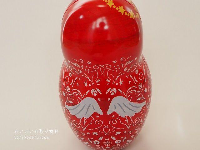 カルディのあかずきんのゆきちゃん(クリスマス缶)