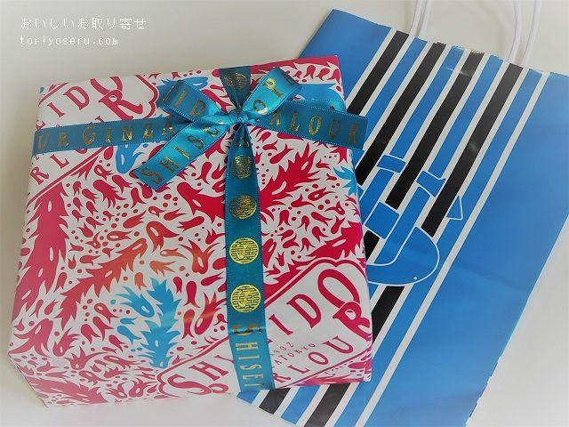 資生堂パーラーの花椿ビスケット(2019年限定缶)
