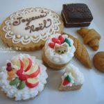 菓音のミニチュアケーキクッキー
