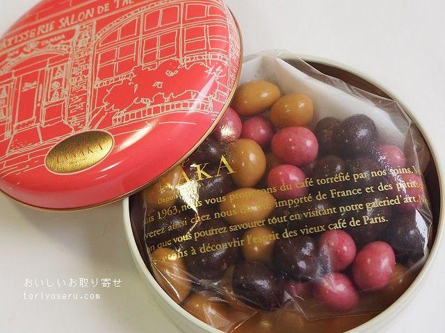 カフェタナカのショコラテ クルール缶