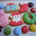 アンファンのクリスマスクッキー