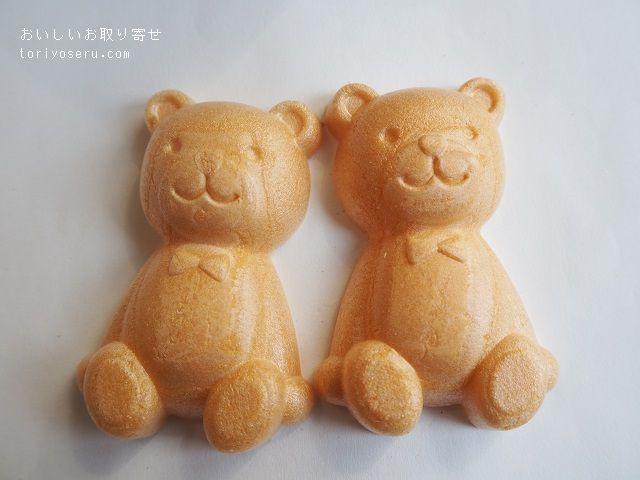 ふる川製菓のクマの手作りもなか