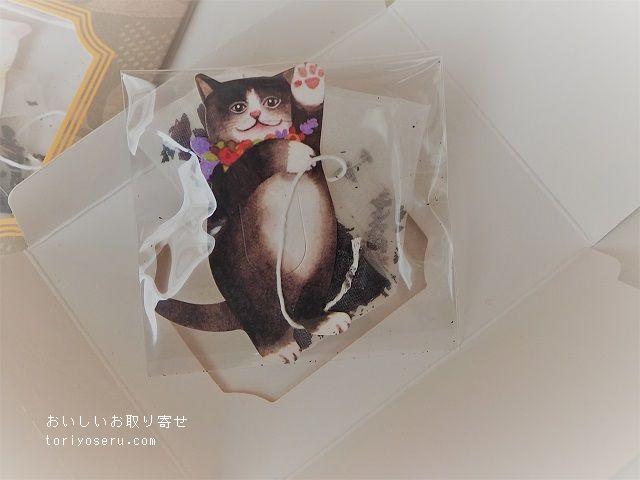 Gongdreen tea bagのねこのティーバッグ