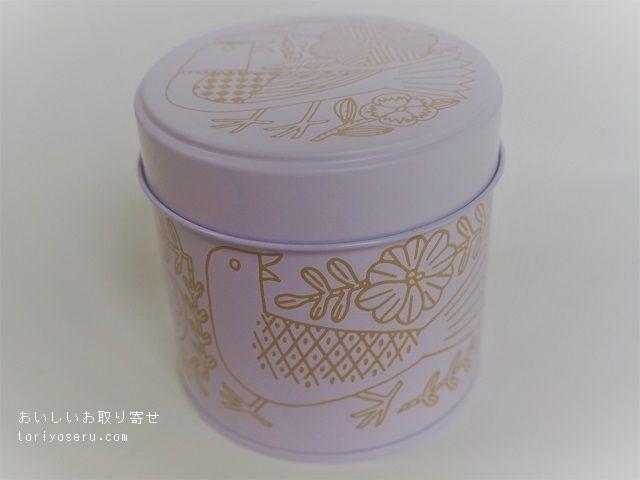 ロミユニの15周年記念缶