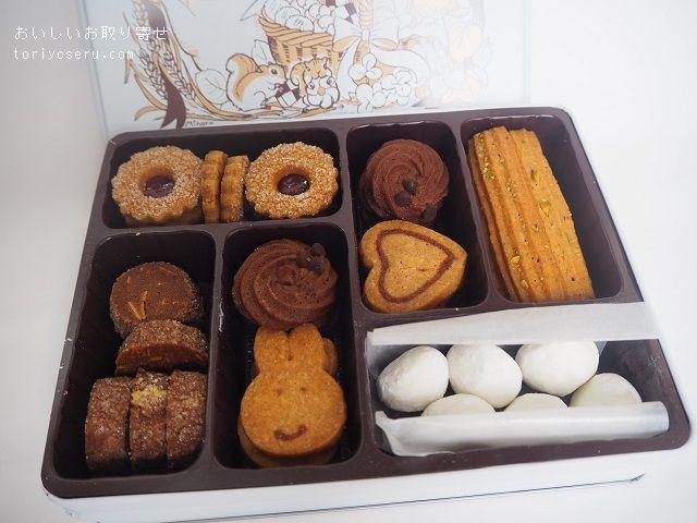 Chouetteのクッキー缶