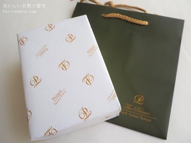プリンスホテルのブーケ・ドゥ・ビスキュイ缶
