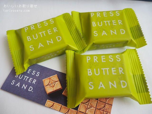 バターサンド専門店PRESS BUTTER SAND宇治抹茶