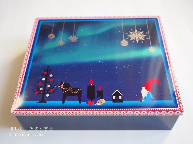 ヨックモックのシガール(クリスマス缶)