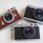 カルディのカメラ缶チョコとファーストエイド缶